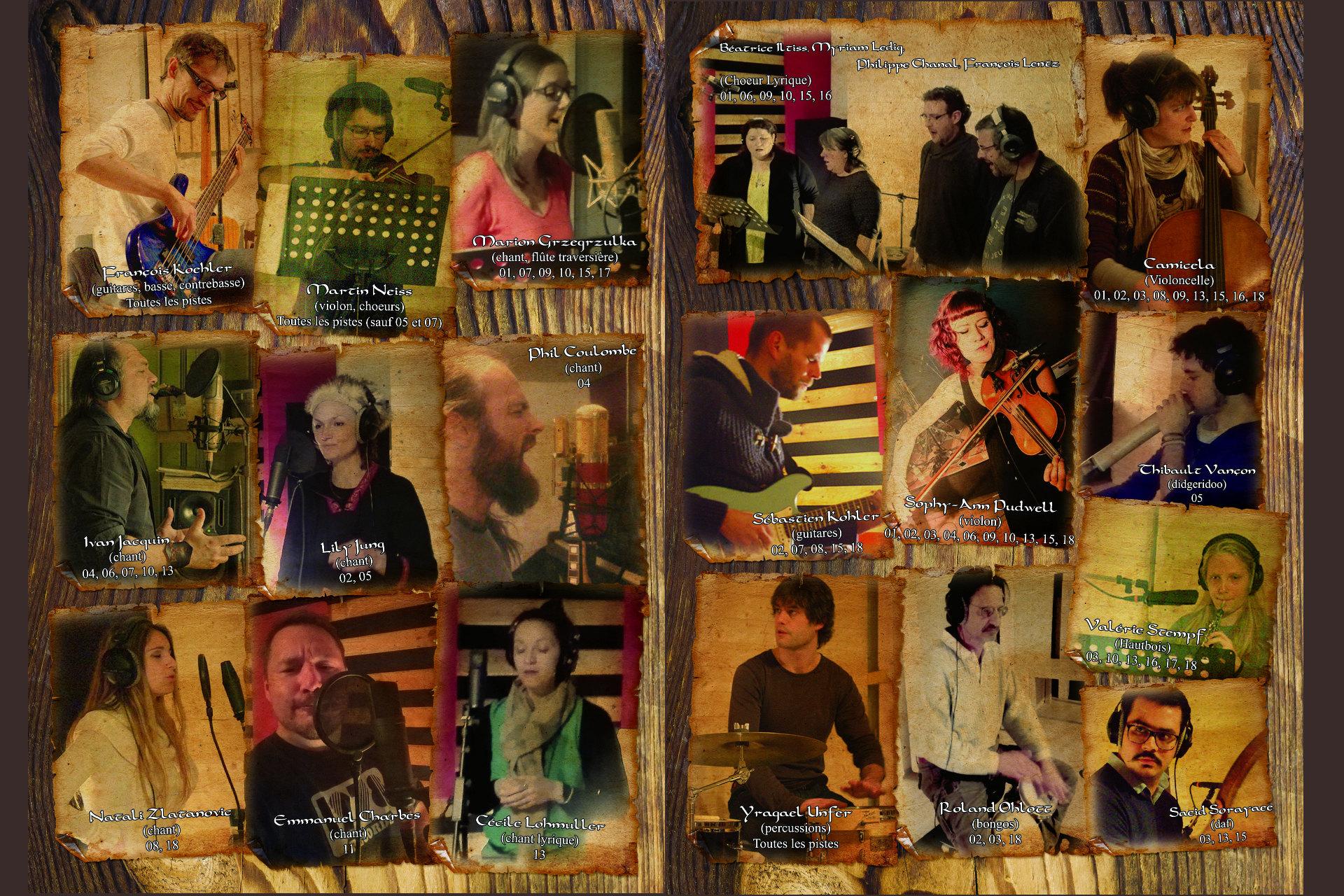 Opéra-Folk Taennchel Terre Lointaine - Musiciens
