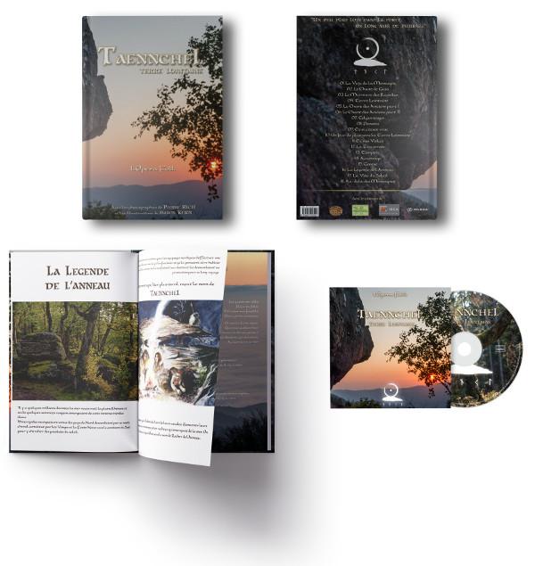 Taennchel - Terre Lointaine - Livre Opéra Folk